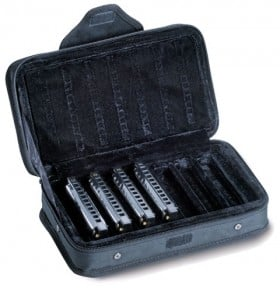 15-62984 Hohner Blues Band Starter Set M91.105 In Carrying Case 7 Piece Keys A, Bb, C, D, E, F And G