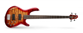 CORT ACTION BASS 4 DELUXE PLUS GUITAR CHERRY RED