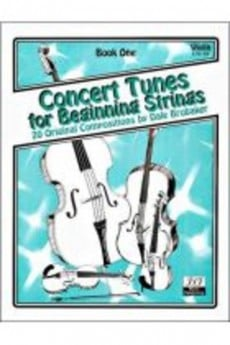 Concert Tunes For Beginning Strings Bk 1 Pno Acc