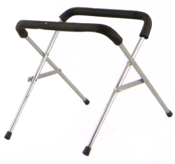 DXP Marching Bass Drum Rack Stand Chrome 54Cm Wide