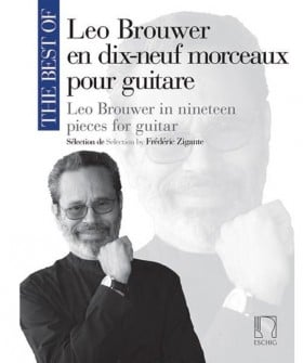 BEST OF LEO BROUWER 19 PIECES FOR GUITAR