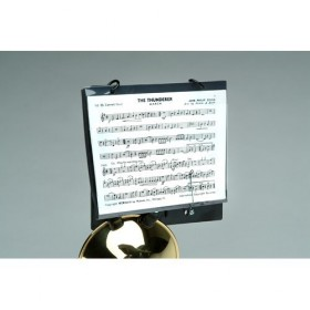 TRUMPET MARCHING LYRE CLAMP ON TYPE