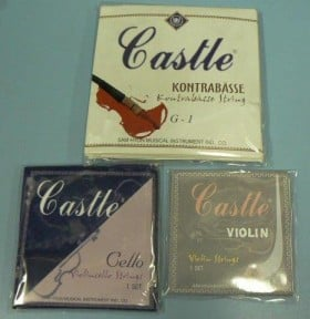 3/4 SIZE DOUBLE BASS STRING SET