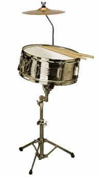 """Opus Percussion SK10D Metal Snare Drum Outfit (14 x 5.5"""")"""