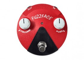 DUNLOP Fuzz Face Mini Band Of Gypsys Effects Pedal