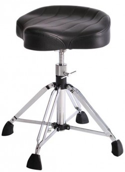 Gibraltar 9900 Series 4-Post Drum Throne with Oversized Motostyle Contoured Seat