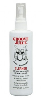 Groove Juice Cymbal & Hardware Cleaner Spray Bottle -240ml