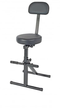 XTREME Performer Stool Height Adj W/Foot & Back Rest