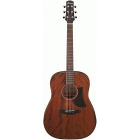 Ibanez AAD140 Advanced Acoustic Guitar w/ Solid Okoume Top (Open Pore Natural)
