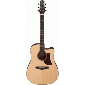 Ibanez AAD170CE Advanced Acoustic Guitar w/ Cutaway & Pickup (Natural Low Gloss)