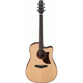 Ibanez AAD300CE Advanced Acoustic Guitar w/ Cutaway & Pickup (Natural Low Gloss)