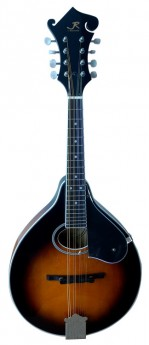 J.Reynolds Deluxe A-Style Mandolin in Tobacco Sunburst Gloss with Florentine Headstock