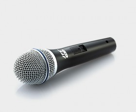 DYNAMIC VOCAL MIC WITH SWITCH FOR VOCALS XLR CAB