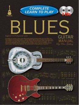 Progressive Complete Learn To Play Blues Guitar Book/CD(2)
