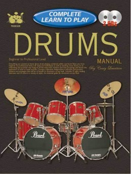 Progressive Complete Learn To Play Drums Book/CD(2)