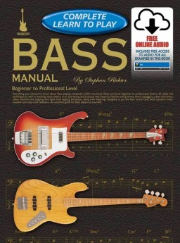 Progressive Complete Learn To Play Bass Manual Book/Online Audio