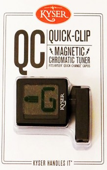 Kyser Magnetic Quick-Clip Tuner