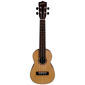 Kealoha KT-Series Soprano Ukulele with Solid Spruce Top in Natural Matt Finish