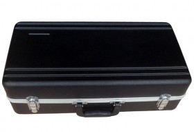 MBT ABS Trumpet Case with Padded Black Interior