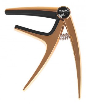 Musedo MC-1 Acoustic or Electric Guitar Capo in Champagne Finish