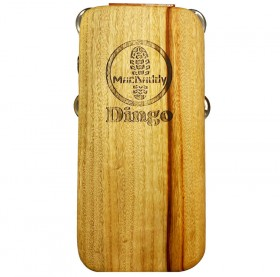 """Macdaddy MDD1 """"Dingo"""" Stomp Box in Natural Finish"""