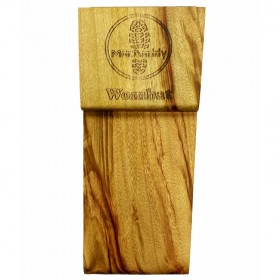 """Macdaddy MDW1 """"Wombat"""" Stomp Box in Natural Finish"""