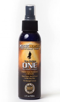 Music Nomad All In One Guitar Cleaner, Polish & Wax -120ml