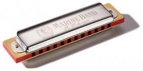 15-61235 Hohner 364S/24/C Soloist Marine Band Harmonica, Melody Tuning, 3 Complete Octaves