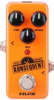 NU-X Mini Core Series Konsequent Digital Delay Effects Pedal