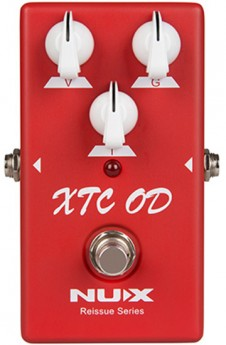 NU-X Reissue Series XTC Ovedrive Effects Pedal