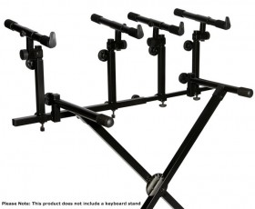 On Stage Deluxe Multi-Tier Attachment for Keyboard Stands