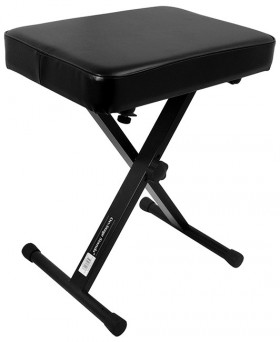 On Stage Three Position X-Style Folding Keyboard Bench