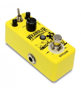 """Outlaw Effects """"Wrangler"""" Compressor Pedal"""