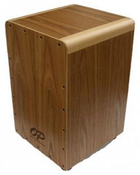 Opus Percussion Wooden Cajon in Ash with Deluxe Carry Bag