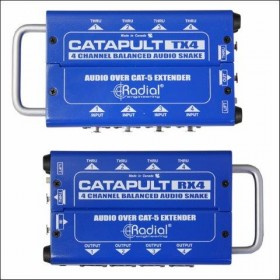 RX4 CATAPULT 4-CH CAT 5 AUDIO SNAKE