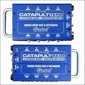 RX4M CATAPULT 4-CH CAT 5 AUDIO SNAKE