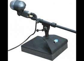 KICKSTAND ISOLATED BASS DRUM MIC STAND CASE QTY