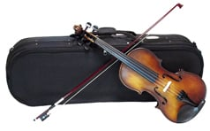 STENTOR 4/4 Size Violin Outfit Satin Antique