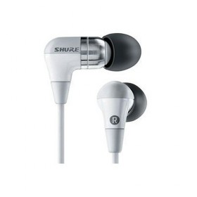 Shure SCL4 Professional Sound-Isolating Stereo Earphones in White