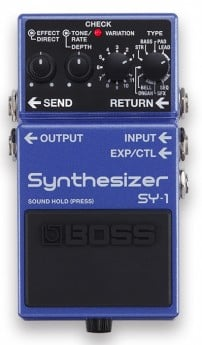 SY-1 SYNTHESIZER GUITAR EFFECTS
