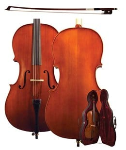 01-H-AS-060-C3/4 Schroetter Cello Outfit, 3/4 Size