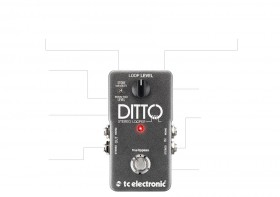 DITTO STEREO - STEREO LOOPER PEDAL WITH IMPORT