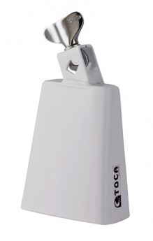 Toca Contemporary Series Small Rumba Bell in White