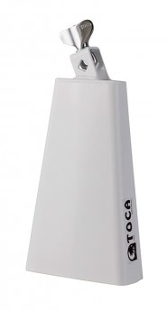 Toca Contemporary Series Mambo Bell with Mount in White