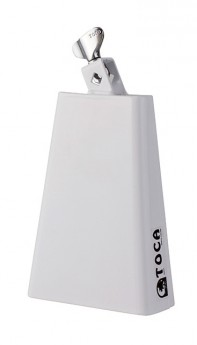 Toca Contemporary Series Timbale Bell with Mount in White