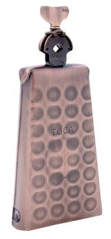 Toca Pro Line Groove Bell in Black Copper with Mount