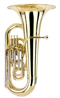 01-13660 BE981-2 Besson Sovereign EEb Tuba Outfit Concert Model 4 Valves Compensating Silver Plate
