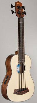 U BASS SOLID SPRUCE LEFT-HAND
