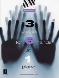 PIECES 3 FOR 6 HANDS AT 1 PNO