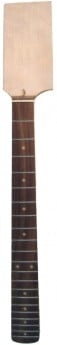 DR PARTS Electric Gtr Neck W/Blank Headstock Rwd-Fb
